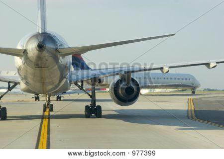 Airplane Tail Close