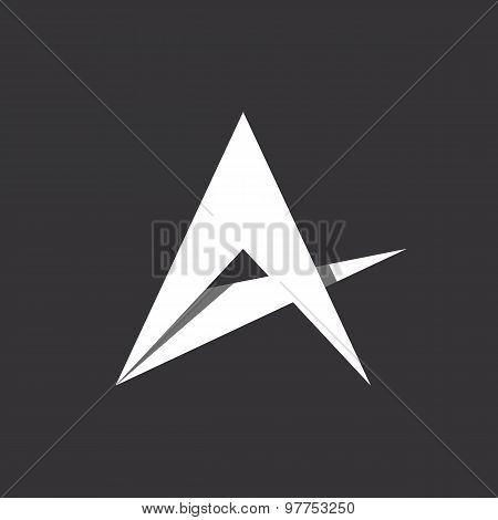 A Letter Or Abstract Star Logo Template