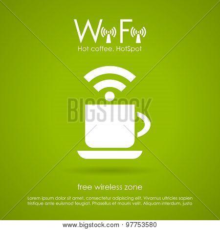 Wi-fi cafe icon