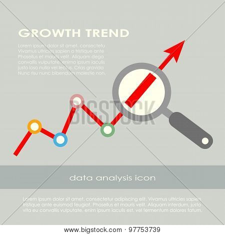Growth trend poster