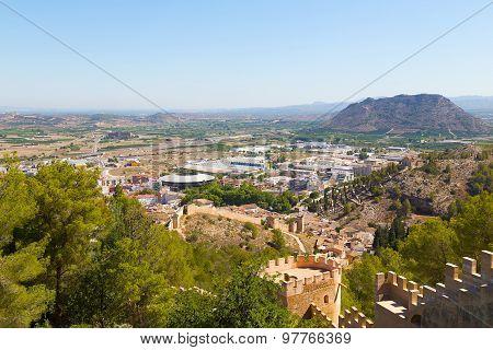 Historical town of Xativa Valencia region Spain