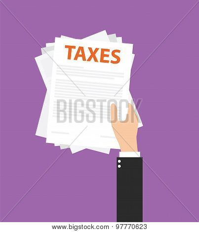 Taxes documents