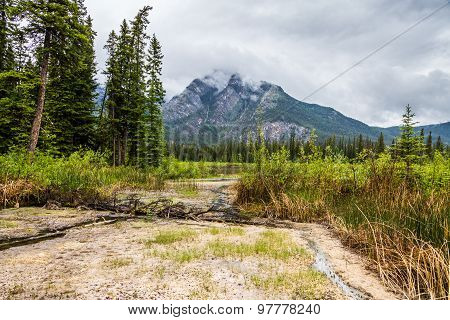 Sulphur Area Of Banff