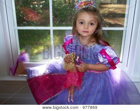 Princess In The Window