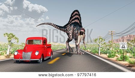 Encounter on Route 66