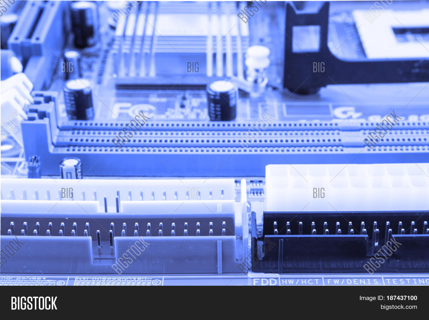 Circuit Board Electronic Computer Image Photo Bigstock Testing Hardware Technology Motherboard Digital Chip Tech Science Backg
