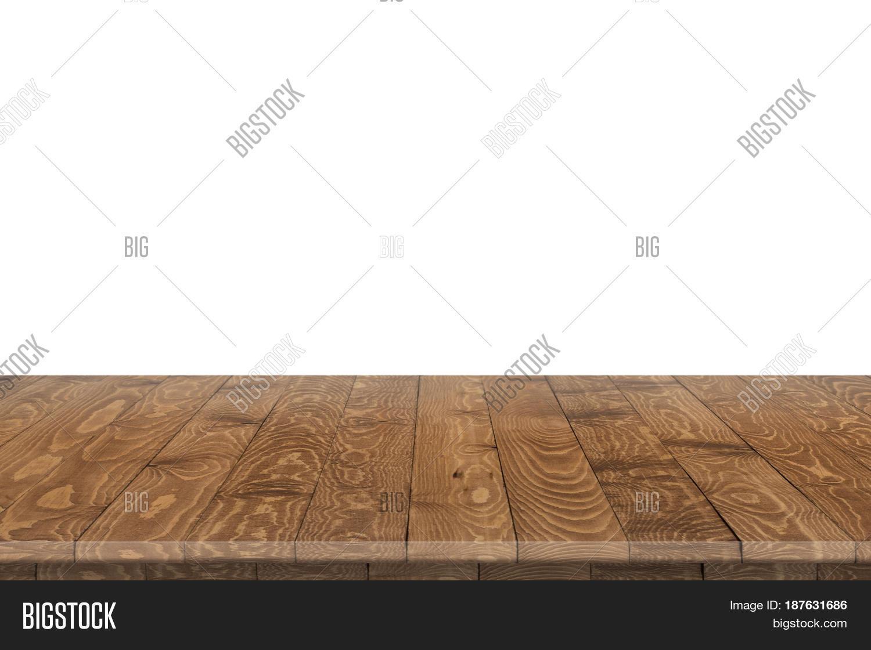 Empty Wood Table Perspective Image Photo Bigstock