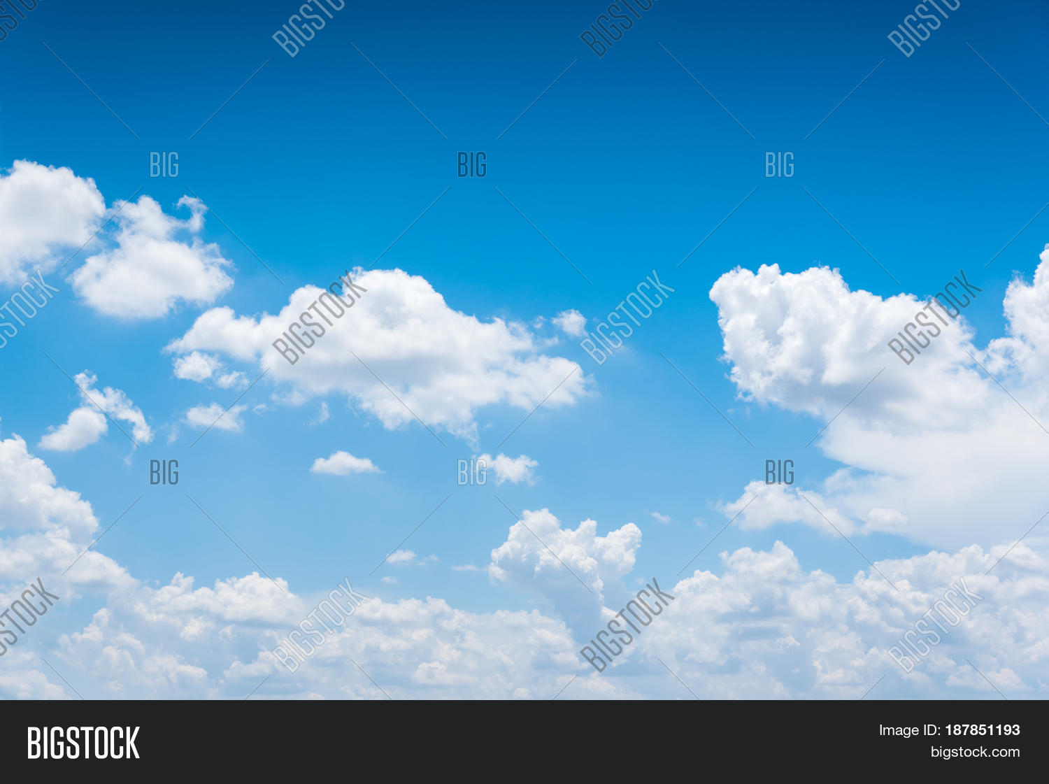 vast blue sky clouds image photo free trial bigstock
