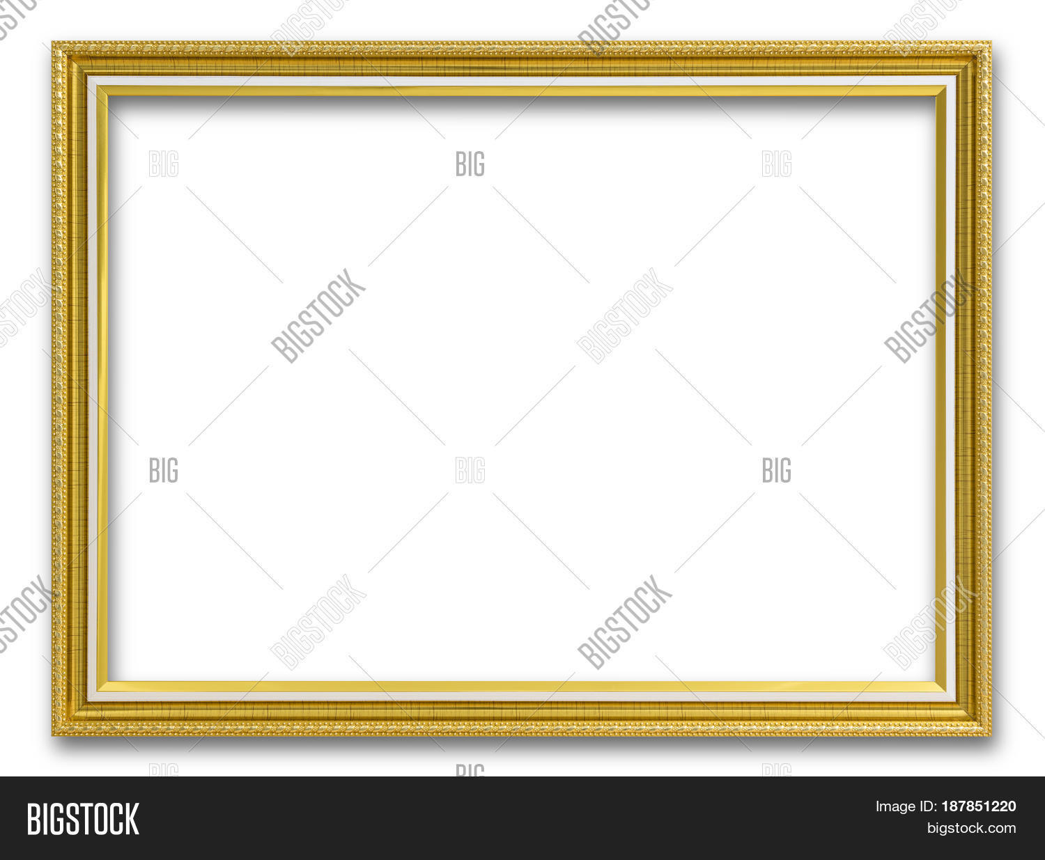 Gold Wooden Frame Image & Photo (Free Trial) | Bigstock