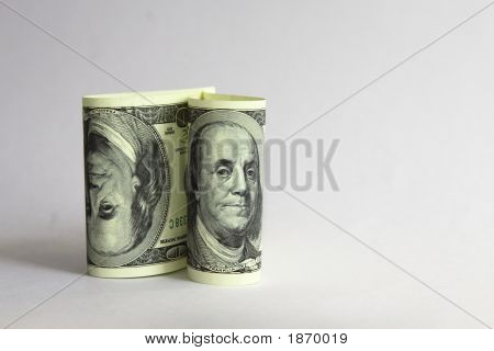 Two Us Dollar Banknotes