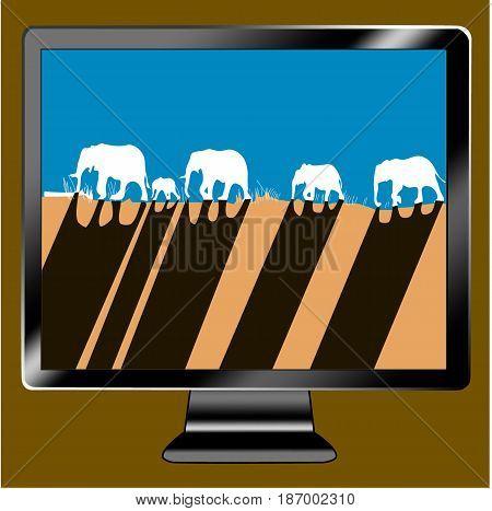 icon tv show elephant caravan cross hill savanna