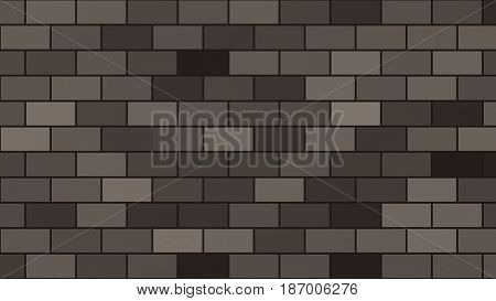 Abstract Background In Grey And Pewter Tones In Brick Wall Style With Noise