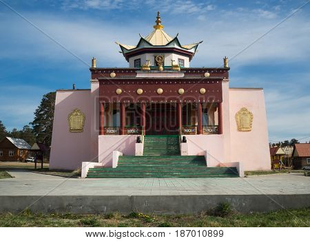 Buddhist Temple In Ulan-ude, Russia