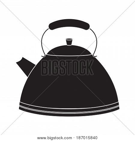 Kettle icon. Vector illustration isolated on white background