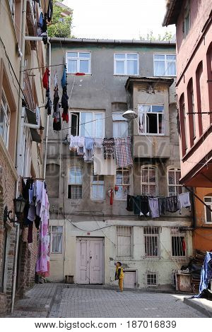 Fener District In Istanbul