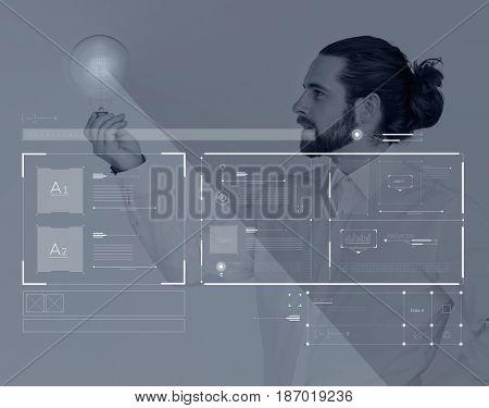 Social Platform Internet Content Graphic