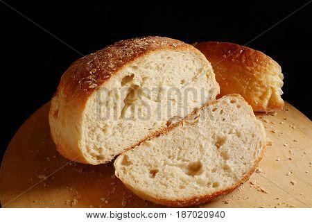 artisan bread homemade bread, cutting artisan brade