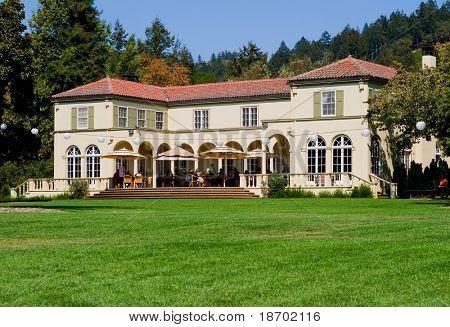 Sonoma Valley vineyard in California