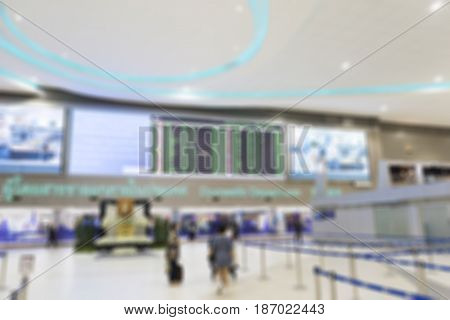 image of Blurred abstract background of fitness gym
