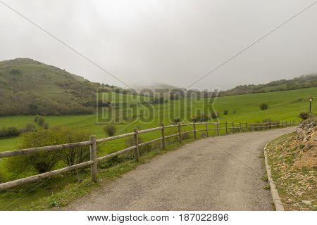 By The Village Of Argueso In The Province Of Cantabria