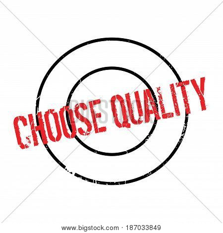 Choose Quality rubber stamp. Grunge design with dust scratches. Effects can be easily removed for a clean, crisp look. Color is easily changed.