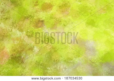A green texture background was made by processing a blurred photo with textured pre-sets