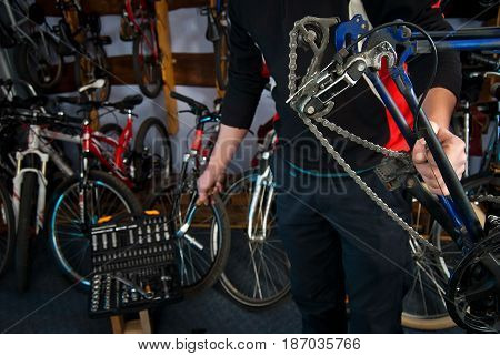 Master Bike Repairs In The Workshop 9