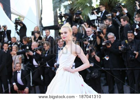 attends the 'Ismael's Ghosts (Les Fantomes d'Ismael)' screening and Opening Gala during the 70th annual Cannes Film Festival at Palais des Festivals on May 17, 2017 in Cannes, France.