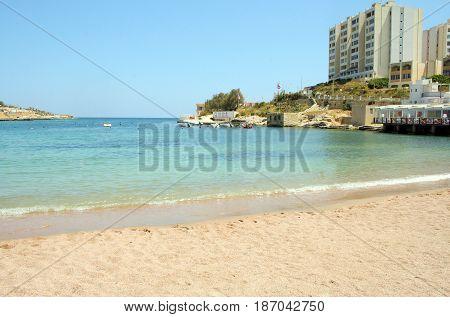 St. George Beach, Paceville, St- Julian's, Malta