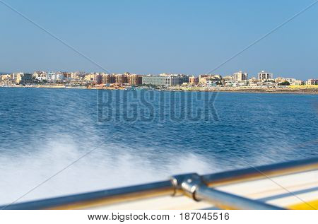 View Of The Coast And Architecture Of Malta