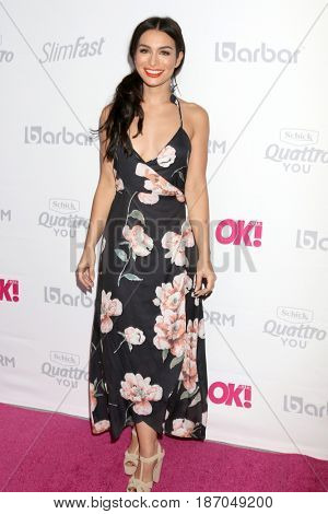 LOS ANGELES - MAY 17:  Ashley Iaconetti at the OK! Magazine Summer Kick-Off Party at the W Hollywood Hotel on May 17, 2017 in Los Angeles, CA