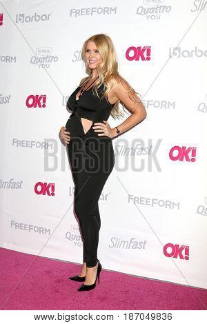 LOS ANGELES - MAY 17:  Elena Samodanova at the OK! Magazine Summer Kick-Off Party at the W Hollywood Hotel on May 17, 2017 in Los Angeles, CA