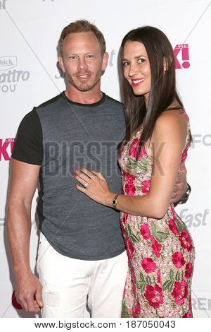LOS ANGELES - MAY 17:  Ian Ziering, Erin Ziering at the OK! Magazine Summer Kick-Off Party at the W Hollywood Hotel on May 17, 2017 in Los Angeles, CA