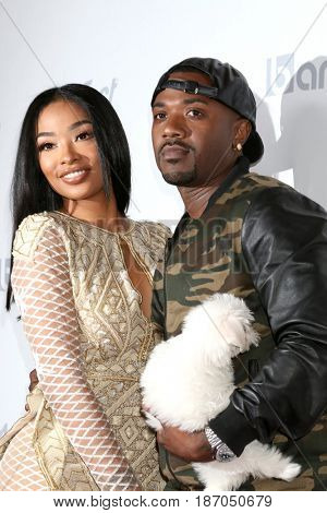 LOS ANGELES - MAY 17:  Princess Love, Ray J Norwood at the OK! Magazine Summer Kick-Off Party at the W Hollywood Hotel on May 17, 2017 in Los Angeles, CA