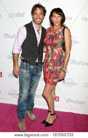 LOS ANGELES - MAY 17:  Shawn Christian, Arianne Zucker at the OK! Magazine Summer Kick-Off Party at the W Hollywood Hotel on May 17, 2017 in Los Angeles, CA