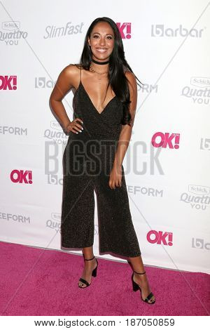 LOS ANGELES - MAY 17:  Yasmin Kassim at the OK! Magazine Summer Kick-Off Party at the W Hollywood Hotel on May 17, 2017 in Los Angeles, CA