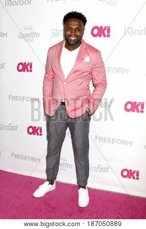 LOS ANGELES - MAY 17:  Rayen Lawrence at the OK! Magazine Summer Kick-Off Party at the W Hollywood Hotel on May 17, 2017 in Los Angeles, CA