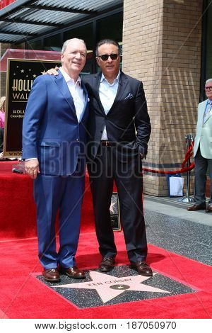 LOS ANGELES - MAY 15:  Ken Corday, Andy Garcia at the Ken Corday Star Ceremony on the Hollywood Walk of Fame on May 15, 2017 in Los Angeles, CA