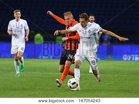 Cup Of Ukraine Final. Shakhtar V Dynamo Kyiv