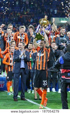Shakhtar Donetsk, The Winner Of Cup Of Ukraine 2017