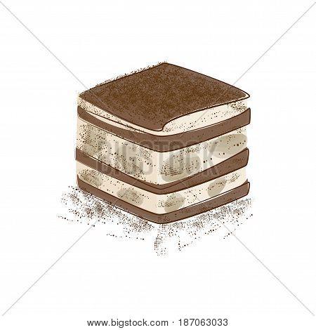 tiramisu ,tiramisu cake ,dessert with coffee, Tiramisu is a popular coffee-flavoured Italian custard dessert