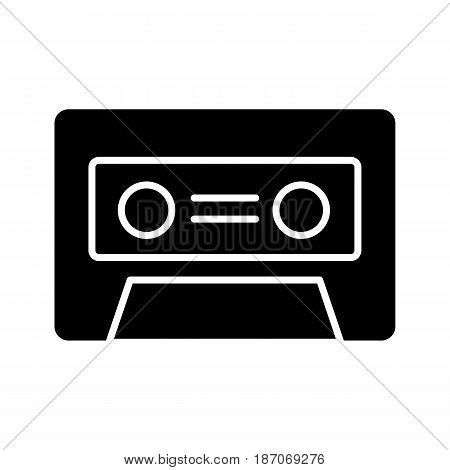 cassette music old fashion vector illustration design. eps 10