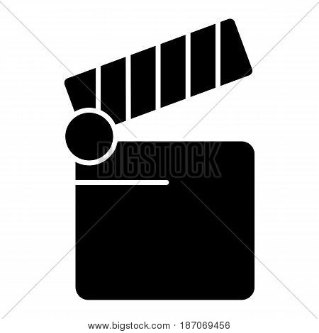 Cinema icon. Movie icon vector isolated on white. eps 10