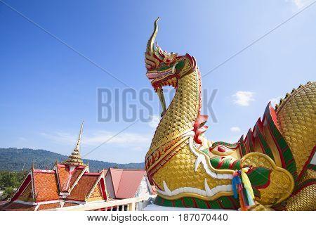 Wat Varee Banpot Wat Bang NonRanong ProvinceAncient Thai temple.
