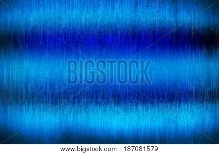 grunge blue metal plate background
