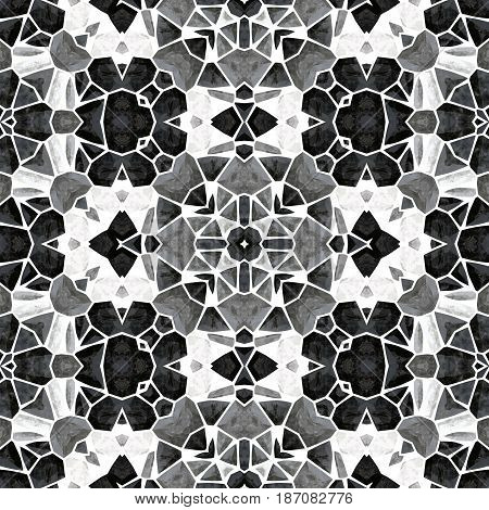 Image of the abstract kaleidoscopic pattern - illustration