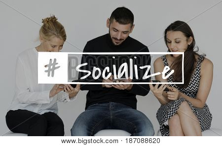 Socialize community relationship connection unity