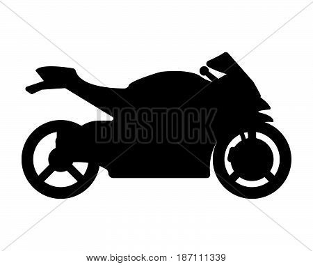 Bike Flat Icon And Logo. Cartoon Vector Illustration