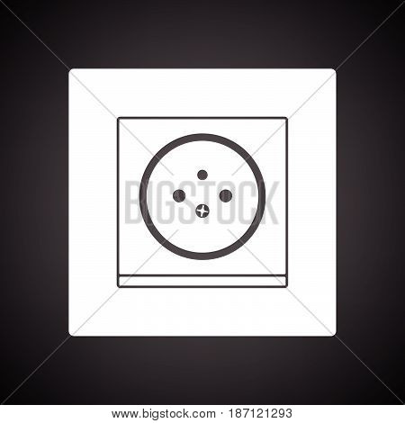 France Electrical Socket Icon