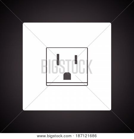 Usa Electrical Socket Icon